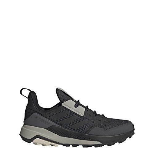 adidas Men's Terrex Trailmaker Hiking Walking Shoe, Core Black/Core Black/Alumina, 10.5