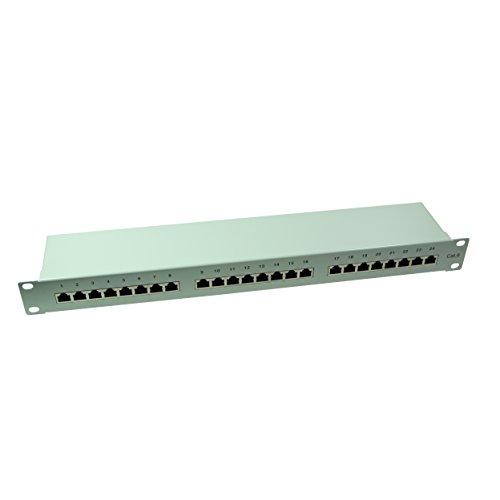 LogiLink Professional PrimeLine Cat.6 (250 MHz) Patchpanel - Verteilerfeld, 19