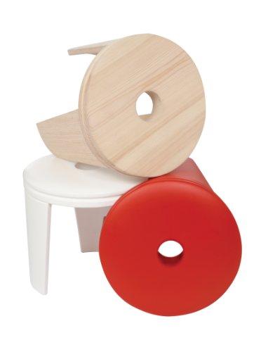 Ninetonine Trommelhocker (Holz)