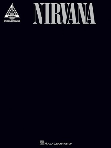 Nirvana (Originaltranskriptionen): Songbook für Gitarre (Guitar Recorded Version)