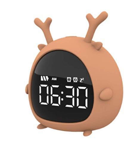 brandend hete Pokemon wekker usb met nacht licht student wakker nachtkastje wekker luie wekker kind cadeau