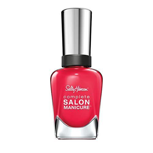 Sally Hansen Complete Salon Manicure Nagellack, Farbe 540, Frutti Petutie, erdbeer/rot, 1er Pack (1 x 15 ml)