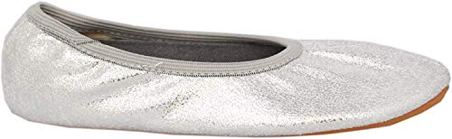 Beck Damen Basic Gymnastikschuhe, Silber (Silber 15), 36 EU