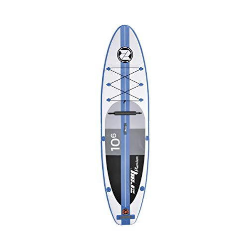 Z-Ray A2 Gonfiabile Touring Stand Up Paddleboard Con Accessori, 10 '15,2 Cm