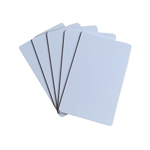 YARONGTECH MIFARE Classic 4K-kaart RFID toegangscontrole blanco witte PVC-kaart (pak van 100)