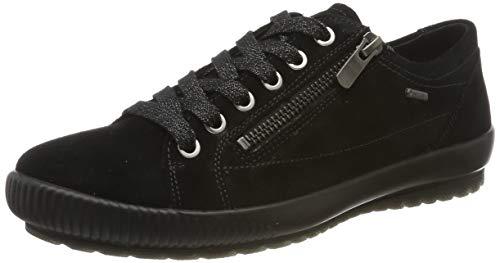 Legero Damen Tanaro Gore-Tex Sneaker, Schwarz (Black 00), 36 EU (3.5 UK)