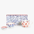PRINTED PORCELAIN SERVING DISH - SERVING DISHES - KITCHEN & DINING | Zara Home United States of America
