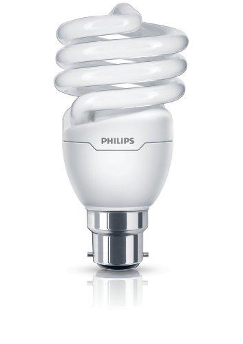 Philips 8710163405124 Ampoule spirale à économie d'énergie à culot B22 Blanc chaud 20 W