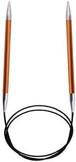 KnitPro Zing Aiguilles à tricoter circulaires Couleur cornaline Longueur 120 cm Épaisseur 2,75 mm