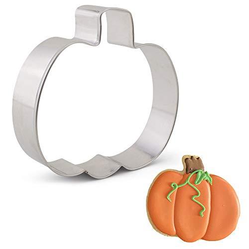 Ann Clark Ausstechform - Kürbis für Erntedank und Halloween - 12.7cm - US verzinnter Stahl