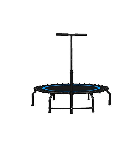 JYTTCE Indoor Trampoline, Laag Ruis Opvouwbare Trampoline, Hoge sterkte Elastische Touw Anti Pinch Ontwerp, Volwassen Kinderen Fitness, Kan Bestand tegen 500 KG, 40 Inch Yoga levert trampoline