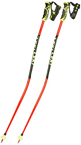 LEKI Kinder WC Lite GS TR-S Skistöcke, Red/Black/Yellow, 115 cm