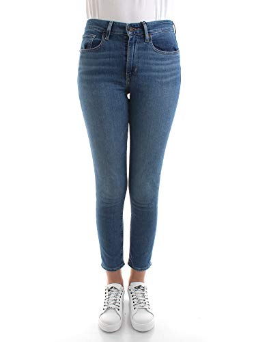 Levi's® Damen Jeans 721 High Rise Skinny Fit Blue (82) 25/28