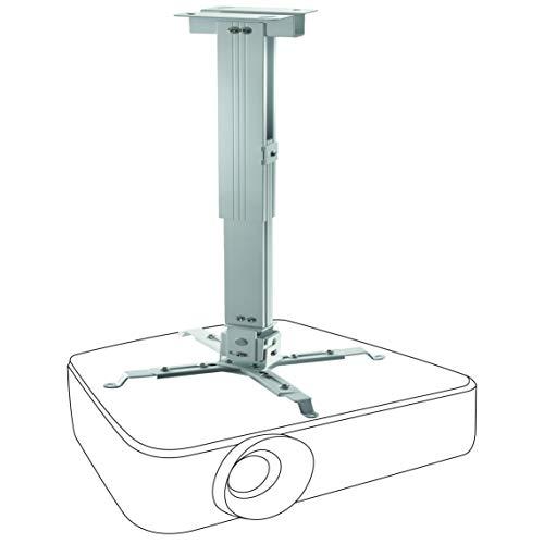 celexon neigbare und schwenkbare Beamer-Deckenhalterung universal MultiCel4070W - weiß - 40-70 cm Deckenabstand - bis 25 kg