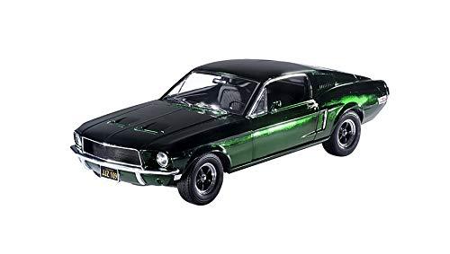 Greenlight 12823 | 1: 18 Bullitt Steve Mcqueen's 1968 Ford Mustang GT Fastback - Green Chrome Edition 1: 18 Scale