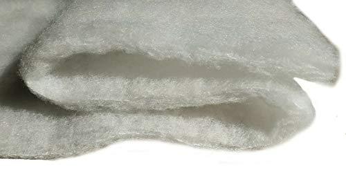 all4all Polsterwatte 200g Vlieswatte Volumenvlies breit 1,6m Stoffe zum Nähe Polsterstoff Volumenvlies Wolumenvlies Polster