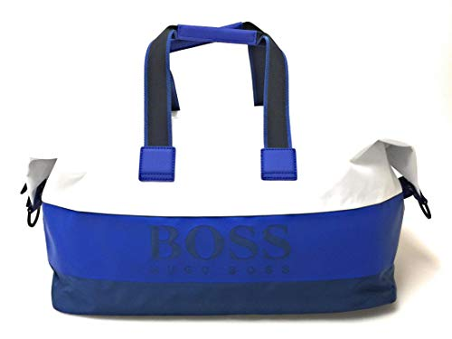 BOSS Pixel ST Holdall Weekender 52 cm medium Blue