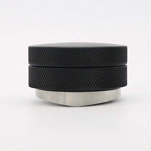 Verdeler RVS Koffie Tamper Zwart Duurzaam 58 / 51mm Verstelbaar Espresso Poeder Bol Afneembaar Sale # 10,58mm