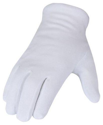 SBS® Baumwollhandschuhe | 12 Paar | weiß | Gr. 9 L | Trikothandschuhe Unterziehhandschuhe | Arbeitshandschuhe