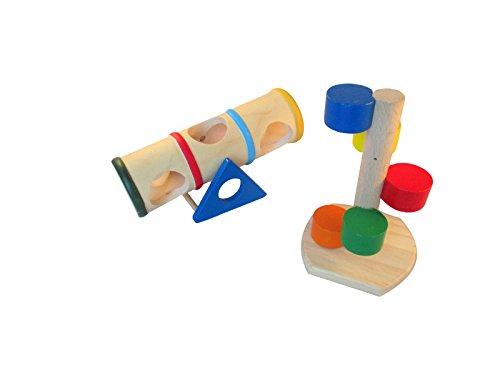 ハムスターのおもちゃ 遊具 アスレチック セット (セット3)