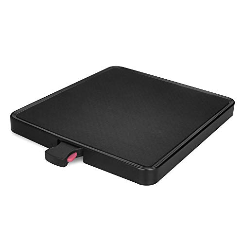 EVERIE Appliances Tray with Rollers Compatible with Single Serve Brewers, Coffee Makers, Stand Mixers, Blenders, Air Fryers. Tray Size 11'' Wide by 12.2'' Deep by 1.2'' High