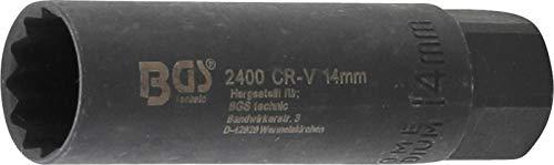 BGS 2400 | Zündkerzen-Einsatz Sechskant | 10 mm (3/8