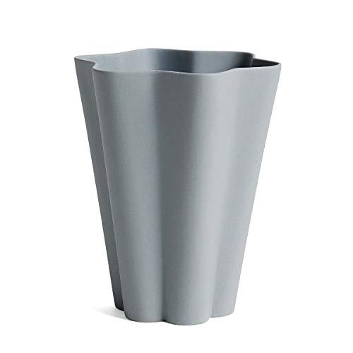 HAY - Iris Vase Large, grau