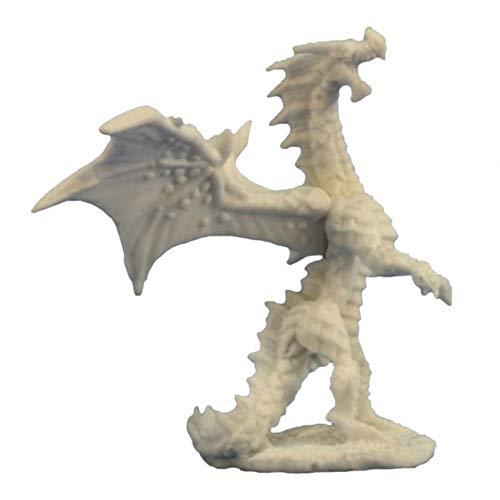 Reaper Miniatures REM77274 Bones Dragon Hatchling Red Miniature
