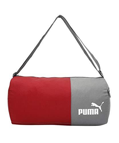 PUMA unisex-adult PUMA Gym Bag IND II Fig-CASTLEROCK Luggage- Garment Bag-X