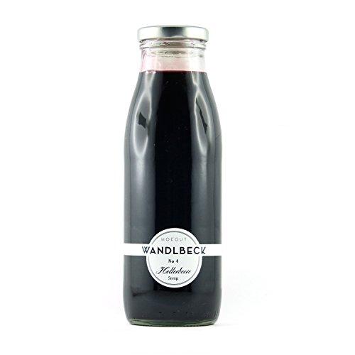 WANDLBECK Holunderbeere Sirup 0,5 Liter
