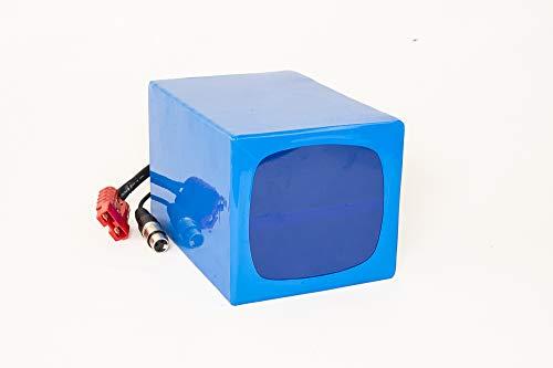 Lithium-Ionen Akku 36V 28,8Ah 1037Wh [kompatibel mit] Panasonic Zellen Akkupack inkl. 60A BMS & Ladegerät für E-Bike Pedelec OSET Trial