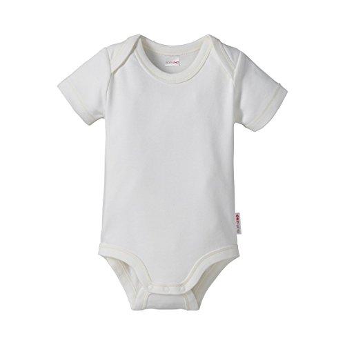 Bornino Le body à manches courtes bébé, blanc