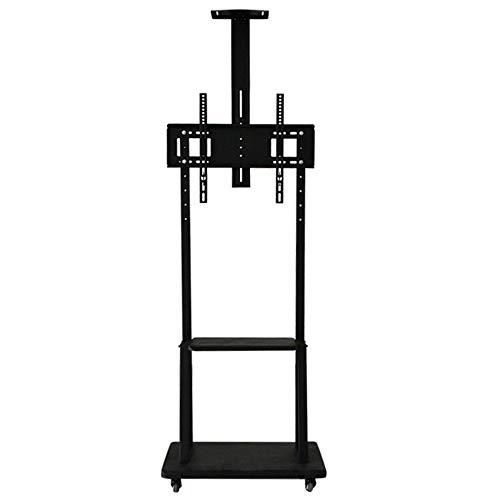 QuRRong TV Stand Mobiele TV Hoogte Verstelbare Plank Voor De 32-inch Naar 65-inch Televisie Kan worden geplaatst Op Boven Van De Desktop Multifunctionele TV Dock