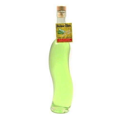 Gurkenlikör 'Krumme Gurke' (0,35 l / 18% vol.)