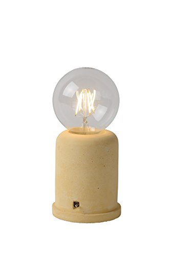 Lucide MABLE - Lampe De Table - Ø 10 cm - Jaune