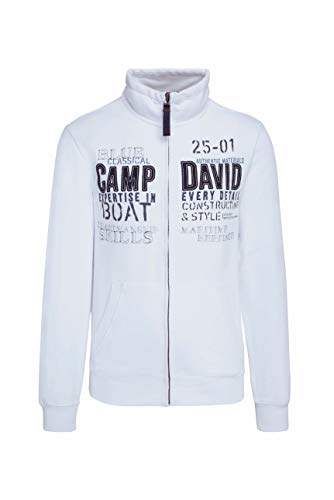 Camp David Herren Sweatjacke mit Artwork
