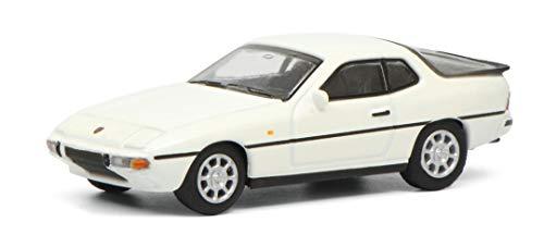 Schuco 452629400 Porsche 924 S, Modellauto, 1:87, weiß