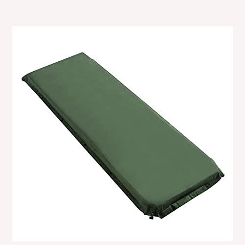 Colchón de Camping Individual, Colchoneta Portátil Gruesa de 8 cm, Alfombrillas Enrollables a Prueba de Humedad, para Acampar Al Aire Libre, Senderismo, Mochilero,B