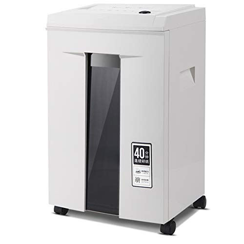 Buy 6 Sheet Electric Office Mute Home 40 Decibel Points High Power 20L File Shredder 5 Level Secret,...