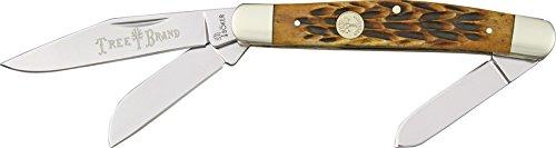 Boker 110726 Traditional Series Stockman Brown Jigged Bone Handle Pocket Knife