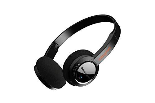 Cascos inalámbricos internos ultraligeros Sound Blaster JAM V2 con Bluetooth 5.0, USB-C, aptX Low Latency, aptX HD, conectividad Multipoint, detección de voz, reducción del ruido y batería de 22 horas