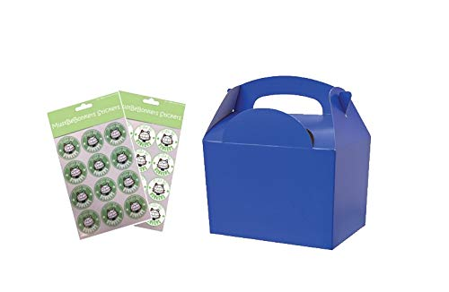Lote de 30 paquetes de cartón, para comidas o cumpleaños 152 x 102 mm x 100