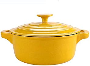 Vertical steamer Casserole Dishes with lids hob to Oven Induction,Casserole Dishes Large Non-Stick pan Gas Cooker Gas Stov...