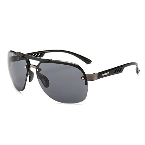 WANGZX Gafas De Sol De Moda Gafas De Sol De Calle De Moda para Mujer Conductores De Hombre Gafas De Sol De Conducción Fullgray