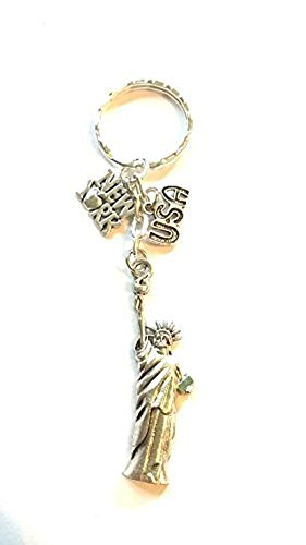 New York Schlüsselanhänger ~ PARIS Schlüsselanhänger ~ Urlaub Schlüsselanhänger ~...