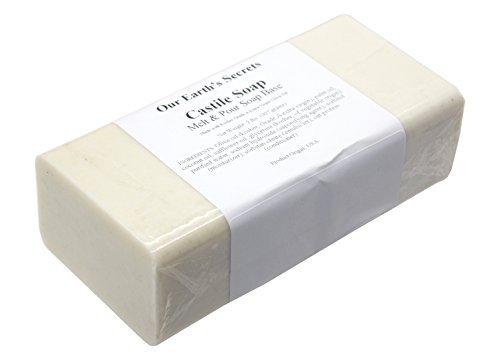 Castile - 2 Lbs Melt and Pour Soap Base - Our Earth's Secrets