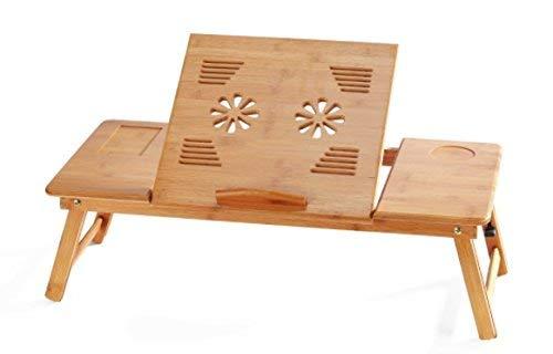 bamboo portable computer laptop desk