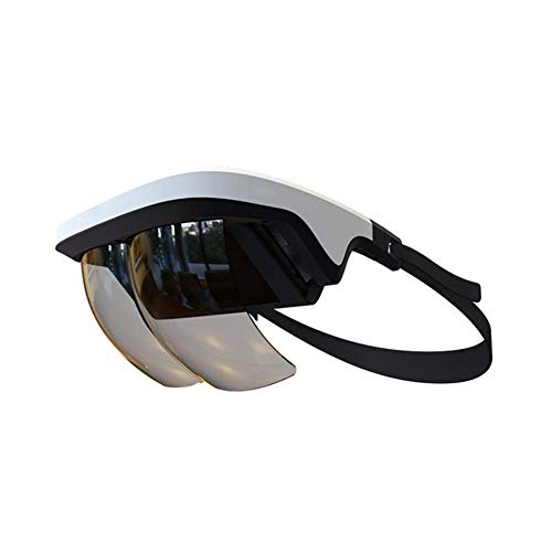 QLPP 90 ° FOV AR Headset, Smart AR Glasses 3D Realidad Aumentada VR Headset para iPhone y Android (Pantalla de 4.5-5.5 ''), Juegos y Videos 3D