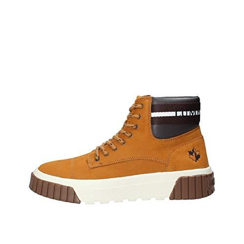 lumberjack Herren Moskow Hohe Sneaker, Gelb (Yellow/Dk Brown M0001), 42 EU