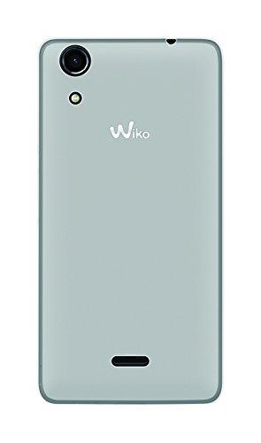 Phonix WKRBLGPW Gel Protection Plus Schutzhülle mit Bildschirmschutzfolie für Wiko Rainbow Lite weiß
